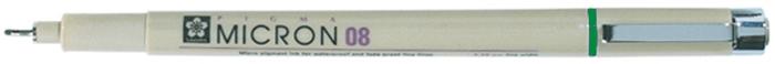 Ручка капиллярная Sakura Pigma Micron, 0.5 мм, цвет чернил: зеленыйXSDK08#29Капиллярные ручкиPigma Micron - это поистине самые популярные ручки, которые используют художники иллюстраторы, дизайнеры и архитекторы по всему миру. Именно Sakura впервые разработала и запатентовала знаменитые архивные чернила Pigma Ink - архивные и светостойкие чернила на пигментной основе высокой степени стойкости без кислот. Такие чернила делают эти ручки идеальным инструментом для аккуратных и точных работ. Чернила быстро сохнут, не смазываются и не растекаются даже на тонкой бумаге. Все ручки Pigma имеют маркировку AP (Approved Product) института ACMI, что означает отсутствие в составе чернил вредных веществ.