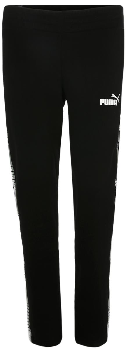 Брюки спортивные PUMA Tape Pants girls contrast tape pants