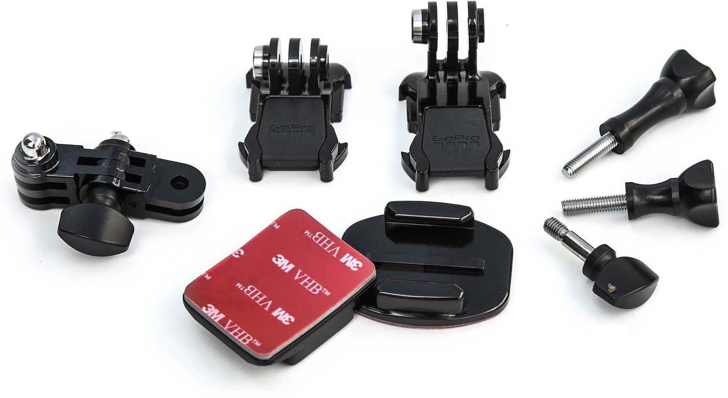 Набор креплений для камеры GoPro Grab Bag AGBAG-002, Black комплект креплений gopro grab bag agbag 002