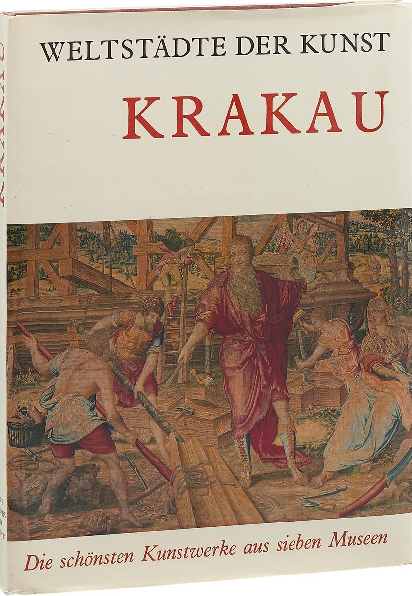 Jerzy Banach Krakau. Die schonsten Kunstwerke aus sieben Museen цена