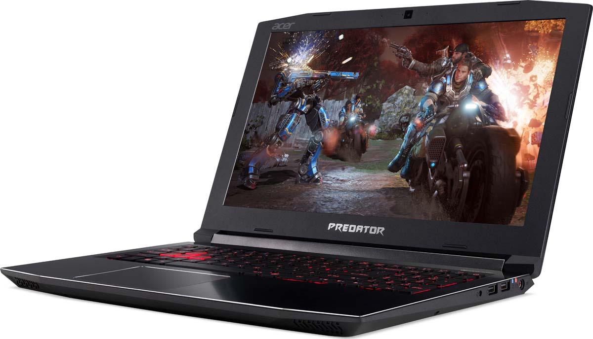 """15.6"""" Игровой ноутбук Acer Predator Helios 300 PH315-51 NH.Q3HER.004, черный"""