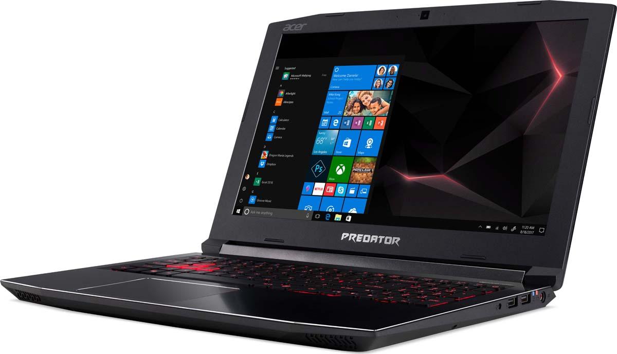 """15.6"""" Игровой ноутбук Acer Predator Helios 300 PH315-51 NH.Q3FER.001, черный"""