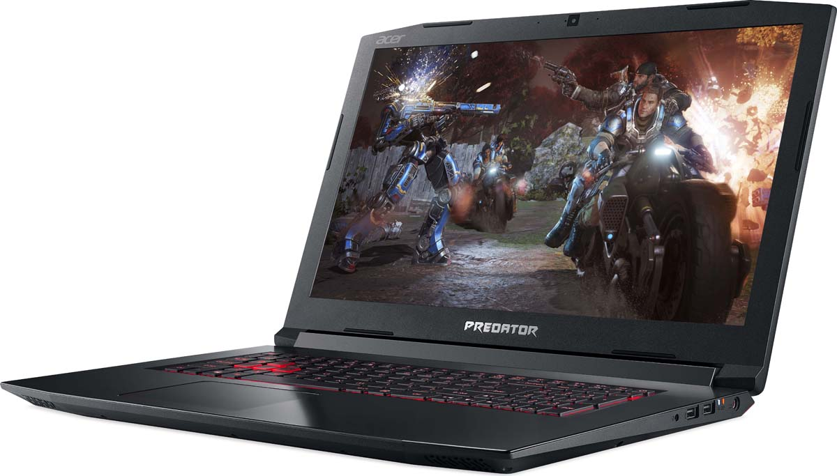 """17.3"""" Игровой ноутбук Acer Predator Helios 300 PH317-52 NH.Q3EER.005, черный"""