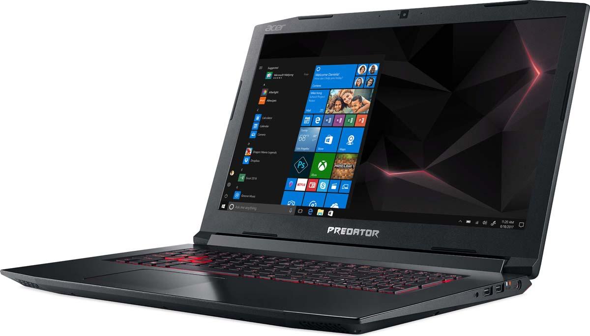 """17.3"""" Игровой ноутбук Acer Predator Helios 300 PH317-52 NH.Q3EER.009, черный"""