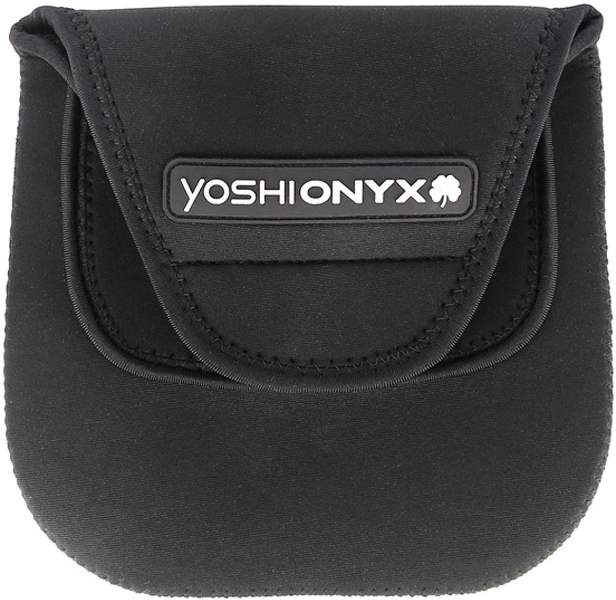 Чехол для катушки Yoshi Onyx, в комплекте с фиксаторами удилища, 2 шт, 18 х 18 см
