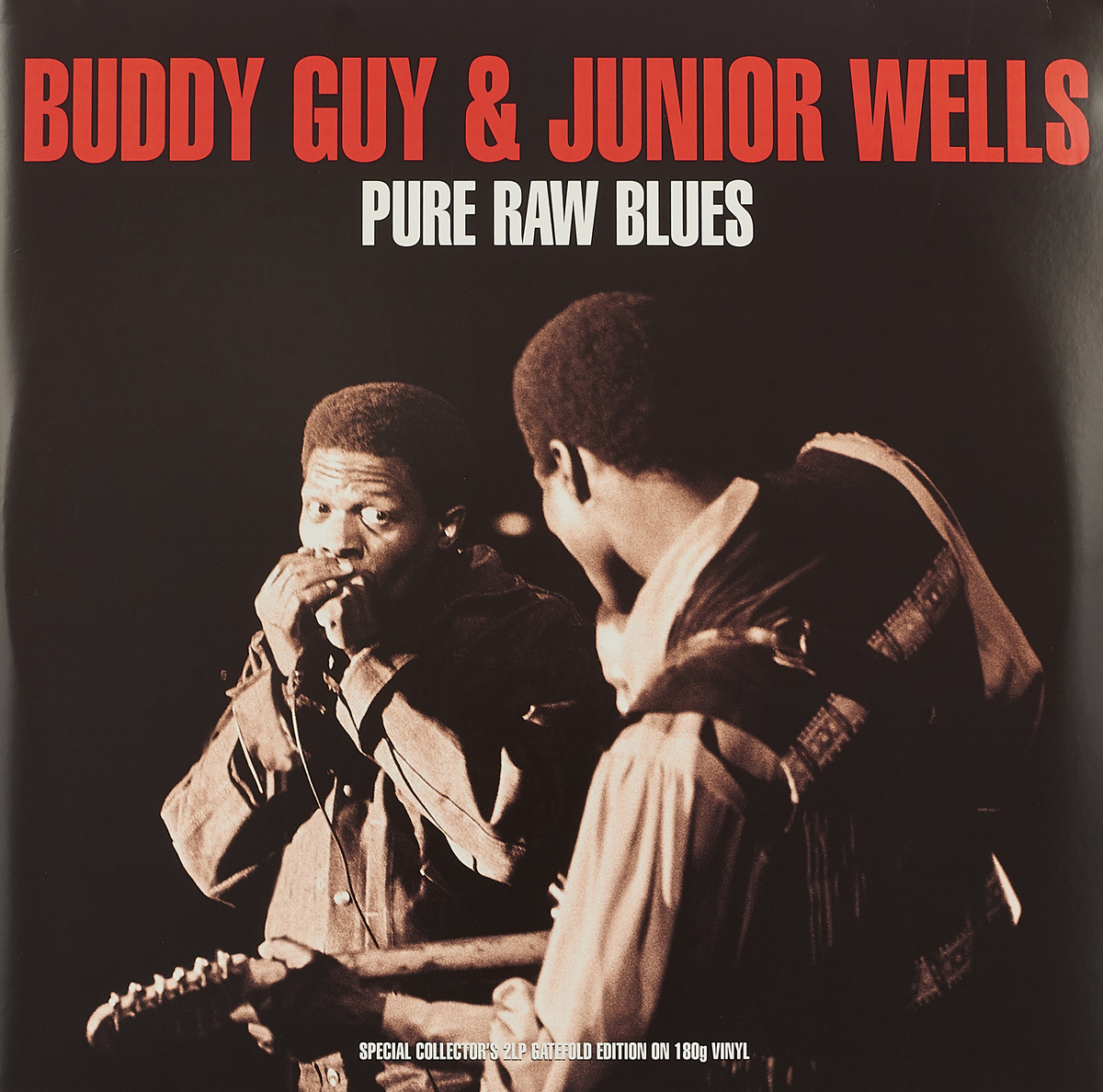 Гай Бадди,Джуниор Уэллс Guy Buddy & Junior Wells. Pure Raw Blues (2 LP) бадди гай отис раш айк тернер ли джексон шеки джейк вилли диксон buddy guy otis rush ike turner cobra 2 cd