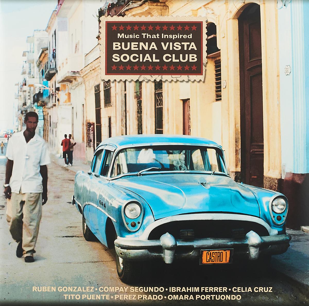 Рубен Гонсалес,Компай Сегундо,Ибраин Феррер Music That Inspired Buena Vista Social Club (2 LP) футболка anti social social club