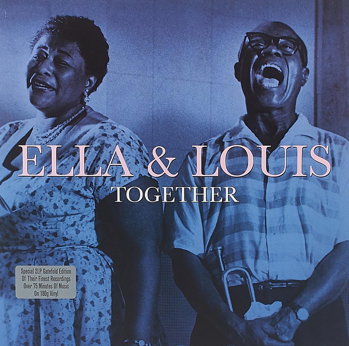 Элла Фитцжеральд,Луи Армстронг Ella Fitzgerald & Louis Armstrong. Together (2 LP) элла фитцжеральд ella fitzgerald standards
