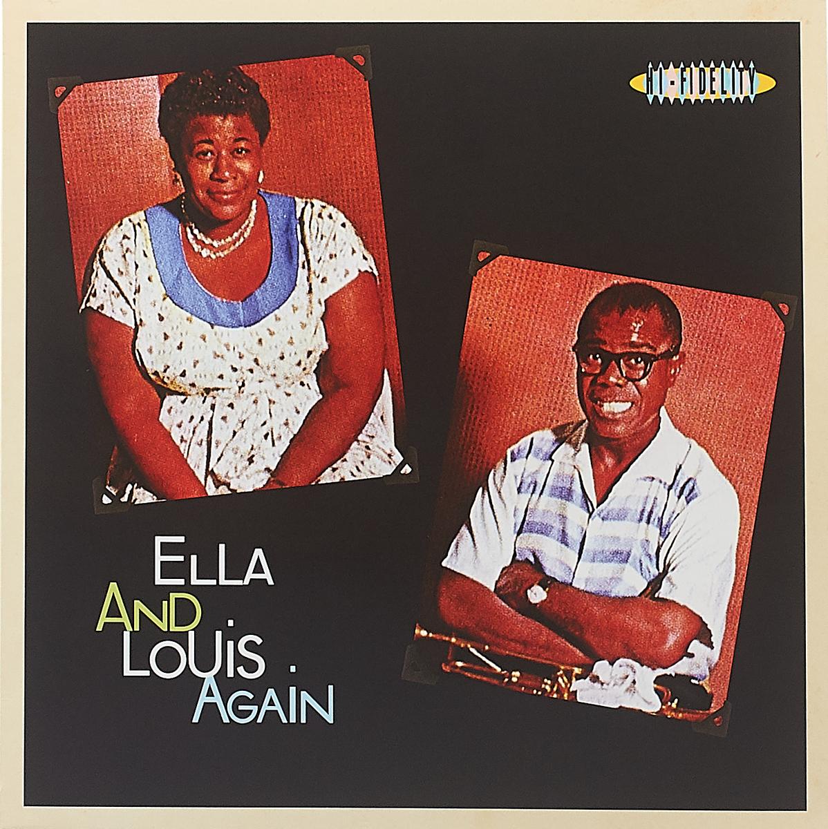 цена на Элла Фитцжеральд,Луи Армстронг Ella Fitzgerald & Louis Armstrong. Ella & Louis Again (LP)