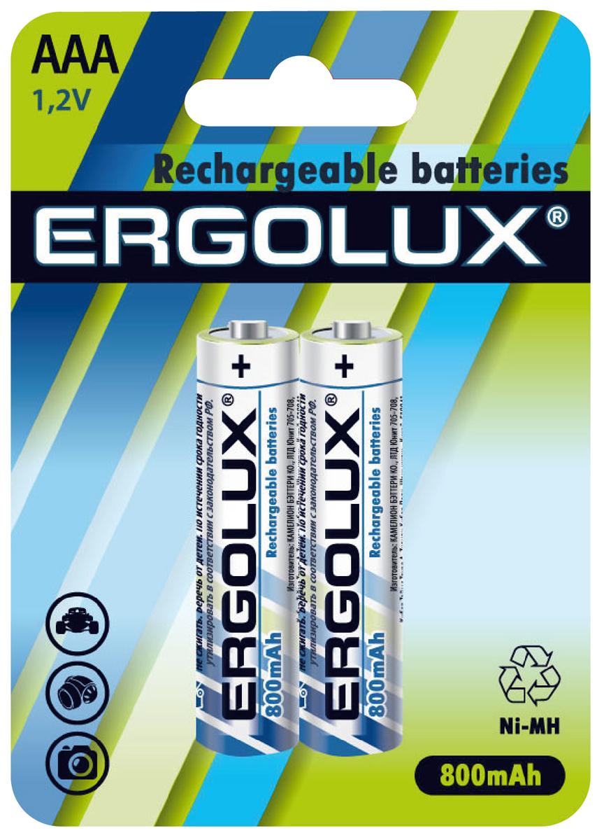Аккумуляторная батарейка Ergolux AAA-800mAh Ni-Mh детские табуретки фото