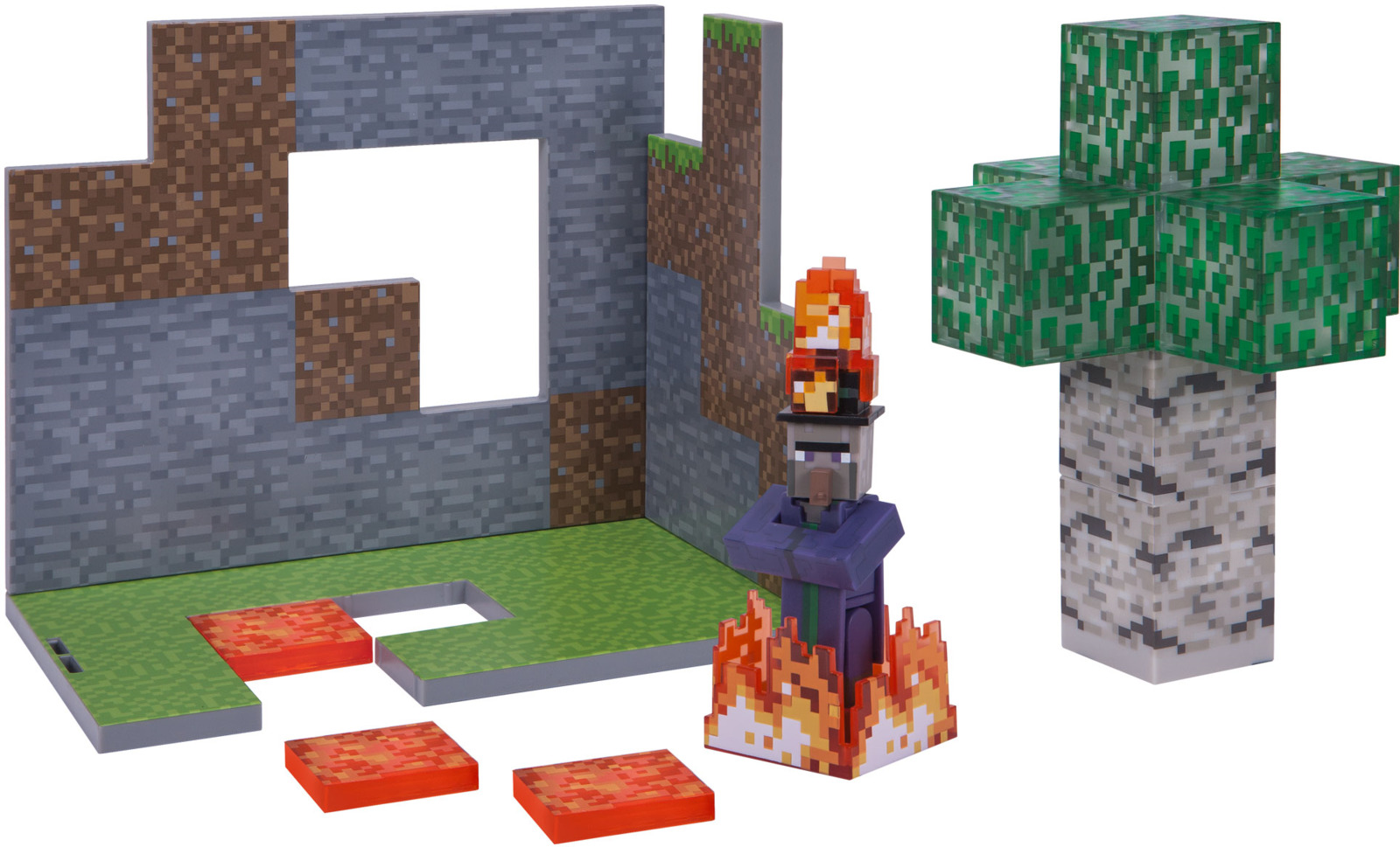 цена на Набор игровой Minecraft Березовый лес