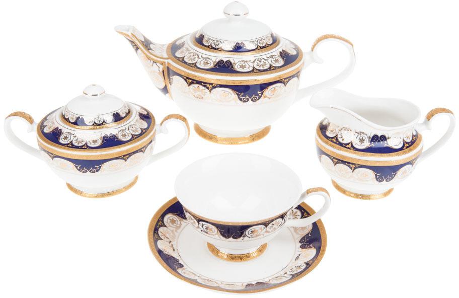 купить Сервиз чайный Best Home Porcelain Indigo, 200 мл, 15 предметов онлайн