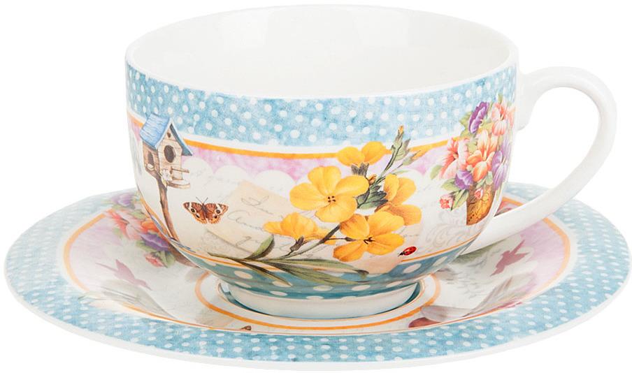 Набор чайный Nouvelle De France Сад, 230 мл, 2 предмета nouvelle набор чашек кошки 230 мл