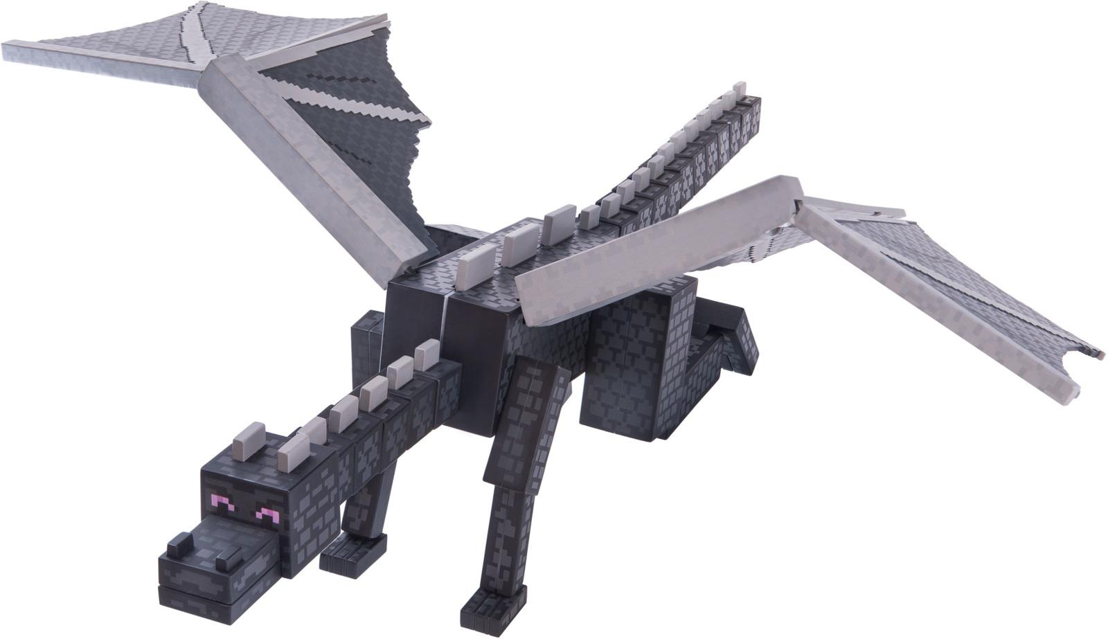 Фигурка Minecraft Ender Dragon, размах крыльев 52 см все цены