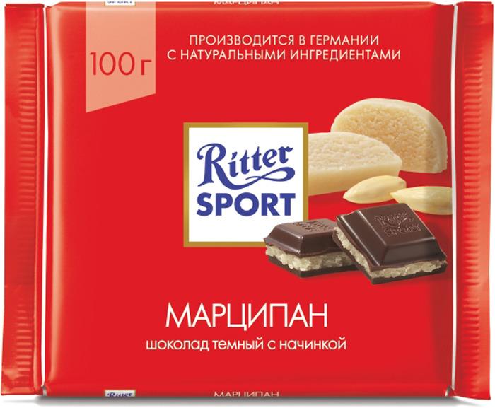 Шоколад темный Ritter Sport Марципан, 100 г901500000400Темный шоколад с марципаном Рекомендуем!