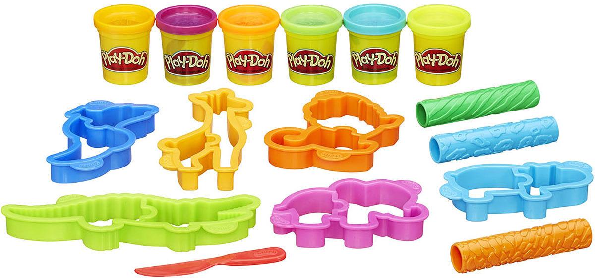Play-Doh Игровой набор Веселое Сафари play doh набор для творчества туалетный столик