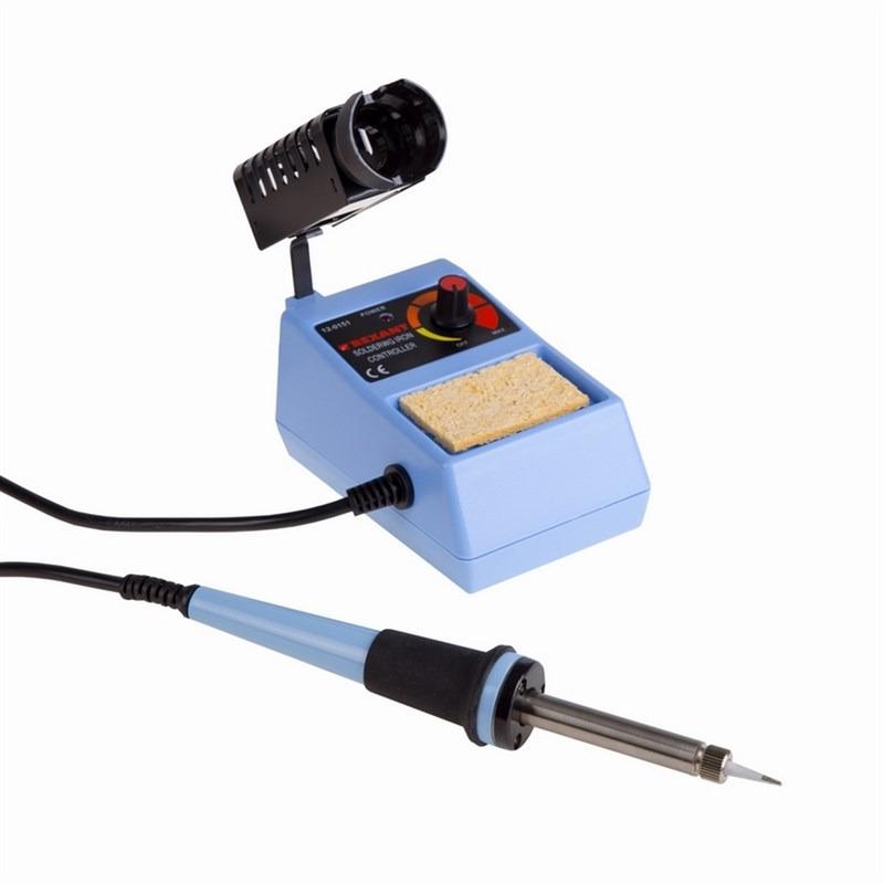 Паяльная станция Rexant ZD-98, 160-500°C, 220В/48Вт паяльная станция паяльник термофен с цифровым дисплеем 100 480°с r852ad rexant