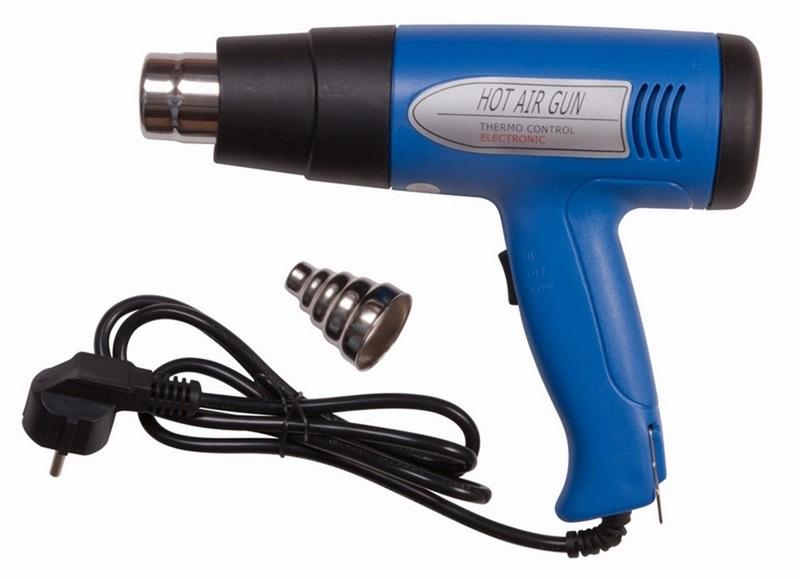 Электрофен для термоусадки Rexant, 220В/750-1500Вт, ZD-508 держатель третья рука rexant zd 10g с лупой 2 5x 12 0252
