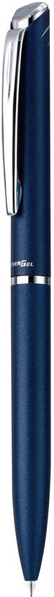 Гелевая ручка Pentel Energel, стержень 0,7 мм, цвет чернил: черный. BL2007C-ABL2007C-AГелевые ручки новой линии EnerGel с мягким поворотным механизмом Металлический матовый корпус темно-синего цвета, чернила черные. Ручки EnerGel New Line BL2007 созданы в японском стиле - минимализм и элегантность прослеживаются в каждой детали. Ручка комплектуется стержнем с черными быстросохнущими гелевыми чернилами EnerGel. Толщина линии - 0,35 мм, диаметр шарика 0,7 мм. Ручка поставляется в элегантном футляре.