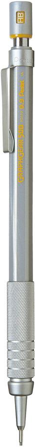 Карандаш автоматический Pentel Graphgear 500, толщина 0.9 мм
