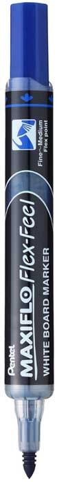 цены на Маркер для досок Pentel Maxiflo, толщина 1.0-5.0 мм, цвет чернил: синий  в интернет-магазинах