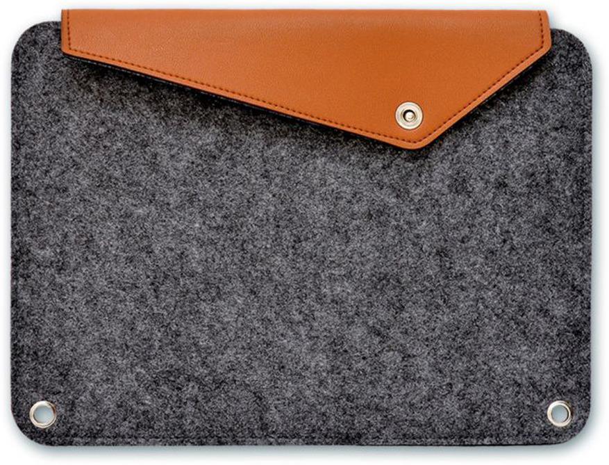 Папка для документов Феникс+, А4+, на кнопке, цвет: темно-серый. 46384 ботинки женские daze цвет темно серый 16507z 3 2l размер 36