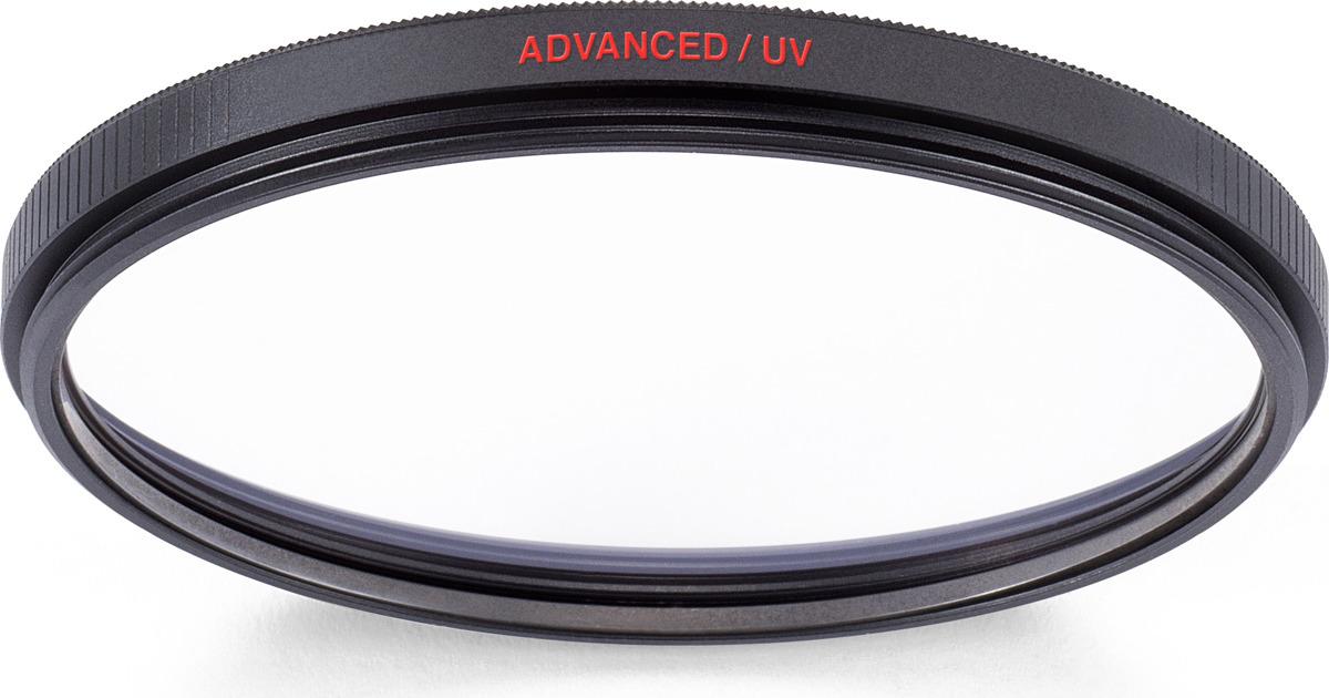 Cветофильтр ультрафиолетовый Manfrotto MFADVUV-55 Advanced, 55 мм монопод manfrotto compact advanced mmcompactadv bk black