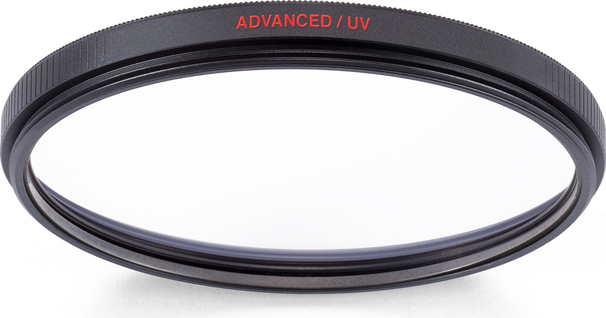 Cветофильтр ультрафиолетовый Manfrotto MFADVUV-77 Advanced, 77 мм ультрафиолетовый фильтр flama uv filter 77 mm
