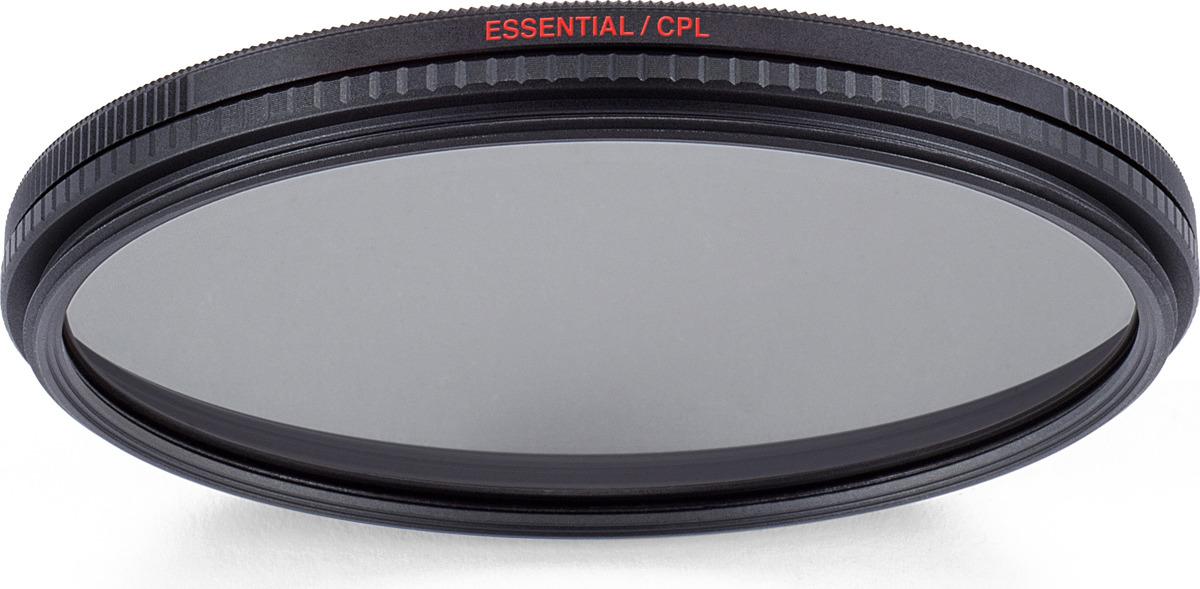 Cветофильтр поляризационный Manfrotto MFESSCPL-52 Essential, 52 мм цена и фото