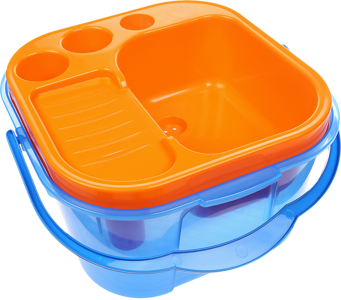 Фото - Полесье Игровой набор Мини-посудомойка цвет синий оранжевый пластмастер игровой набор витаминчик цвет оранжевый сиреневый