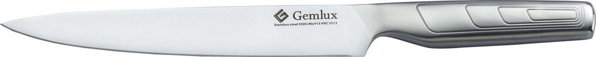 Нож для нарезки Gemlux GL-CK8, длина лезвия 20 см рукоятка для лезвия резака для обработки плинтусов leister 14538