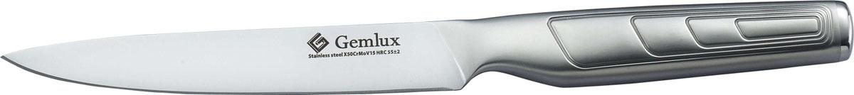 Нож для овощей Gemlux GL-UK5, длина лезвия 12,5 рукоятка для лезвия резака для обработки плинтусов leister 14538