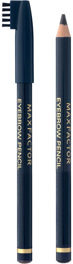Карандаш для бровей Max Factor, №001, цвет: черный карандаш для бровей max factor max factor ma100lwlrs97 page 10 page 9 page 8 page 2 page 6