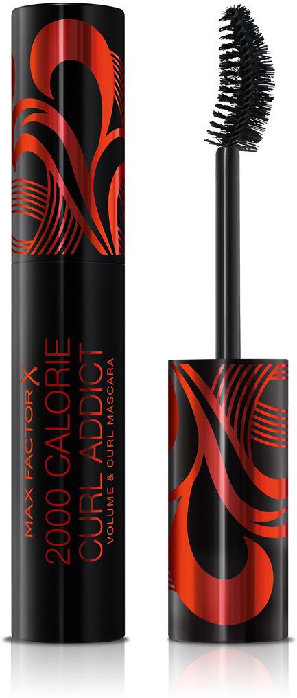 цена на Max Factor Тушь для ресниц объемная подкручивающая 2000 Calorie Curl Addict Black 11 мл