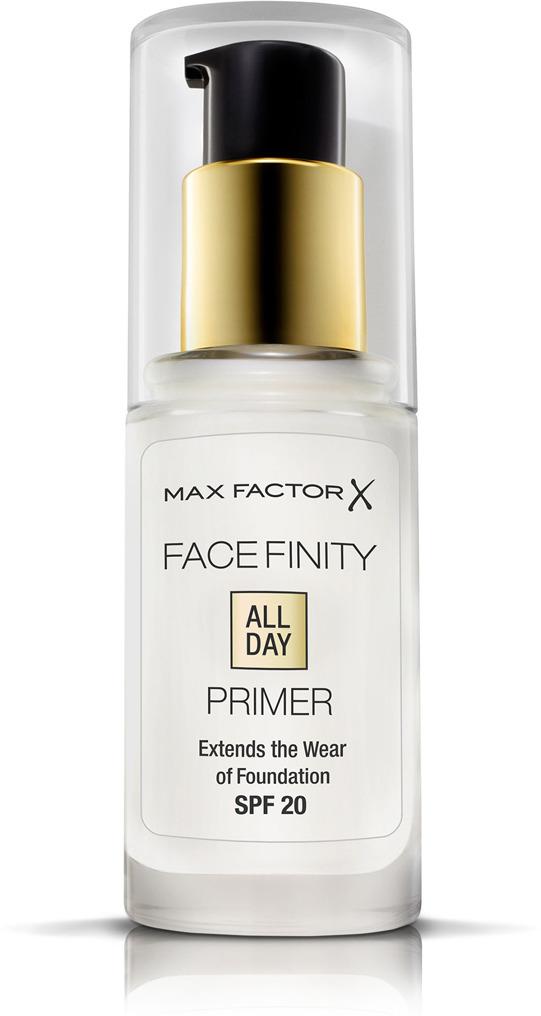 Max Factor Праймер для лица Facefinity All Day Primer тон прозрачный, 30 мл