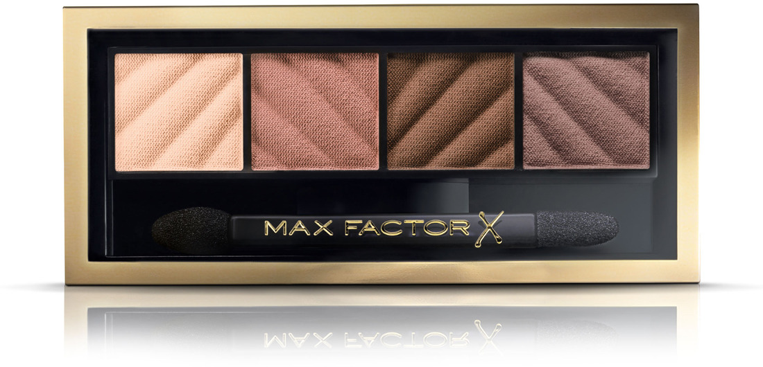 Max Factor Тени для век и Пудра для бровей Smokey Eye Matte Drama Kit 2в1, тон №10 Alluring Nude, 3 г