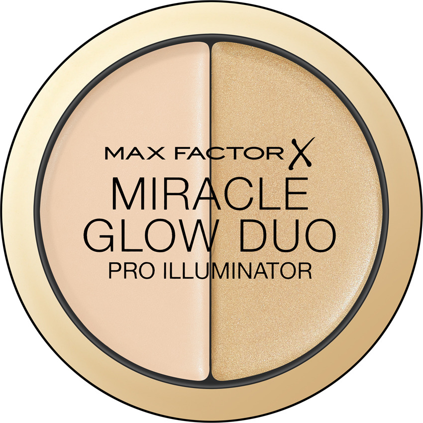 Max Factor Хайлайтер Miracle Glow Duo, тон №10 light хайлайтер by terry glow expert duo stick 3 цвет 3 peachy petal variant hex name f89f97