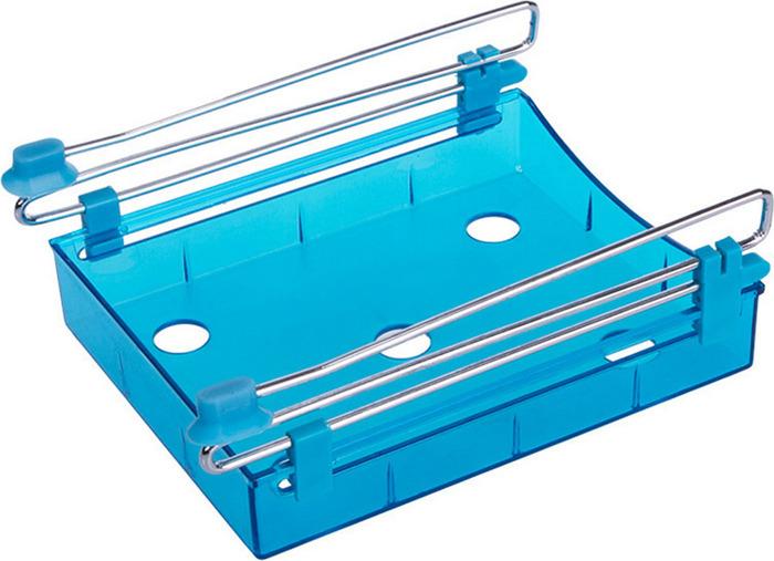 Органайзер для холодильника Homsu, на металлическом основании, цвет: синий, 15 х 12 х 4 см органайзер для холодильника homsu органайзер для холодильника