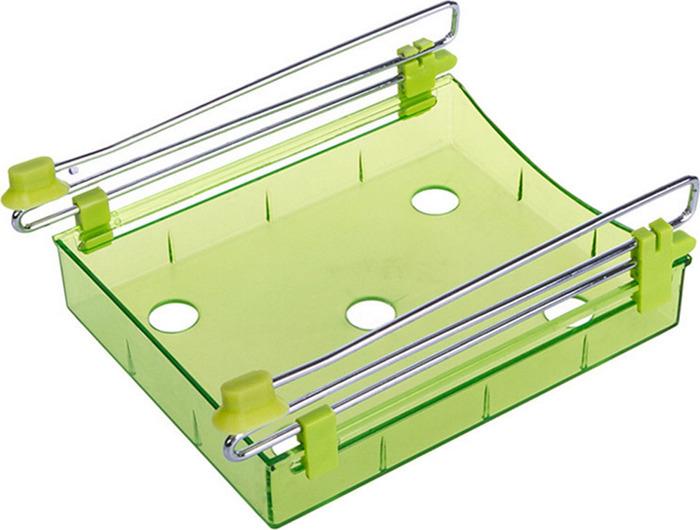 Органайзер для холодильника Homsu, на металлическом основании, цвет: зеленый, 15 х 12 х 4 см органайзер для холодильника homsu органайзер для холодильника