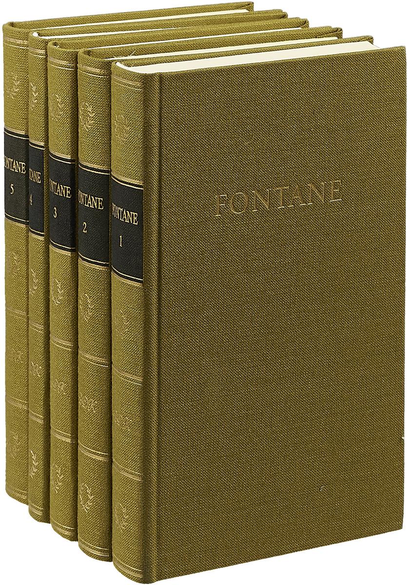 лучшая цена Theodor Fontane Fontanes Werke. In Funf Banden (комплект из 5 книг)