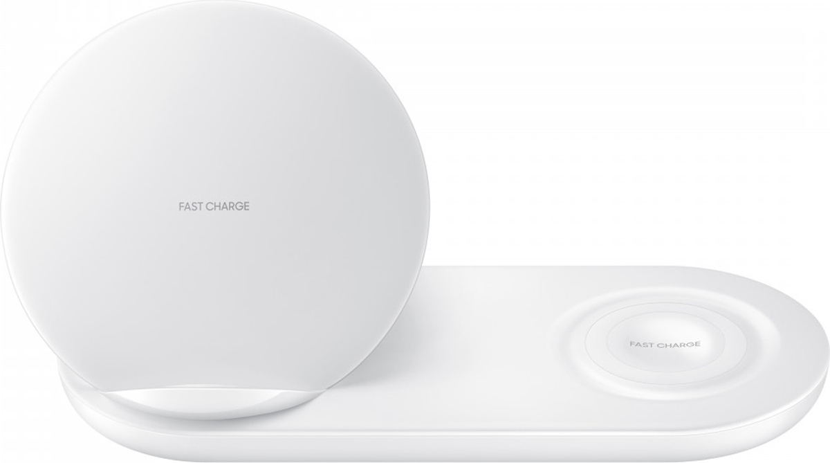 Беспроводное зарядное устройство Samsung EP-N6100, White usb зарядное устройство док станция для зарядки порт flex кабель для samsung galaxy tab 4 sm t530nu