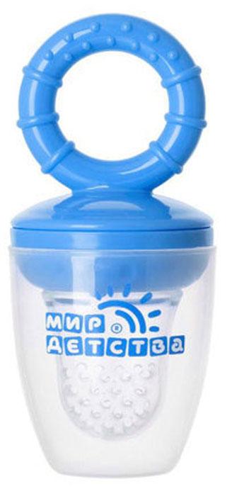 Силиконовый контейнер для прикорма Мир детства, цвет в ассортименте. 17509 блокиратор дверей мир детства мир детства угловой
