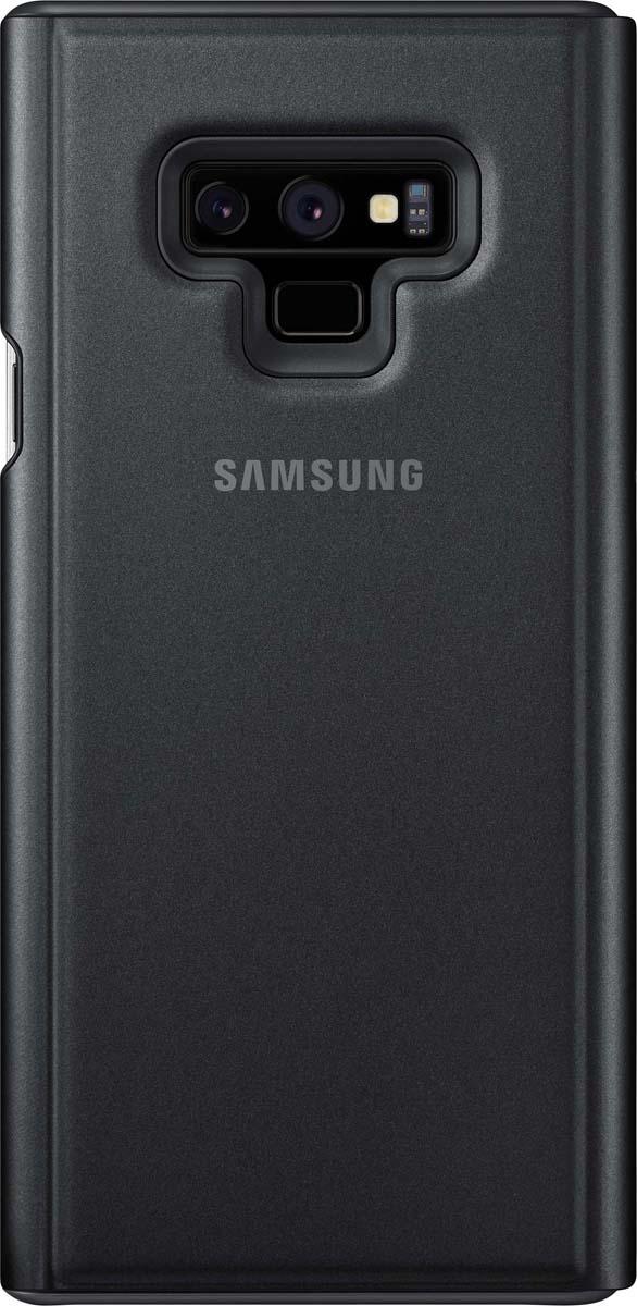Чехол для сотового телефона Samsung Clear View Standing Cover Crown, черный скачать обои для samsung