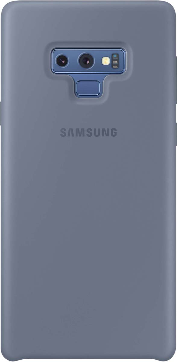 Чехол Samsung EF-PN960TLEGRU для Samsung Galaxy Note 9, синий чехол клип кейс samsung для samsung galaxy note 9 silicone cover синий ef pn960tlegru