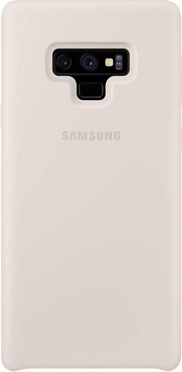 Чехол Samsung EF-PN960TWEGRU для Samsung Galaxy Note9, белый чехол крышка samsung silicone cover ef pn960twegru для samsung galaxy note 9 белый