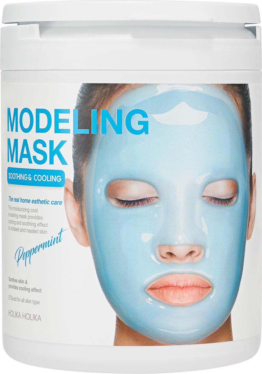 Маска косметическая Holika Holika Modeling Mask Peppermint, 200 г guerlain super aqua mask увлажняющая маска super aqua mask увлажняющая маска