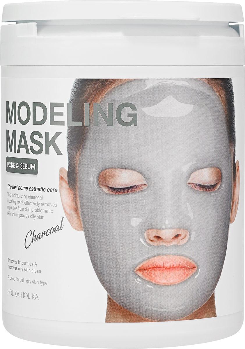 Маска косметическая Holika Holika Modeling Mask Charcoal, 200 г guerlain super aqua mask увлажняющая маска super aqua mask увлажняющая маска