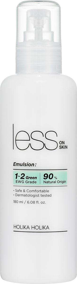 Эмульсия для лица и тела Holika Holika Less On Skin Emulsion, 181 мл эмульсия для уходя за кожей holika holika