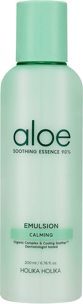 Эмульсия для лица и тела Holika Holika Aloe Soothing Essence 90% Emulsion AD, 200 мл увлажняющая эмульсия для лица aloe soothing emulsion 90 отзывы