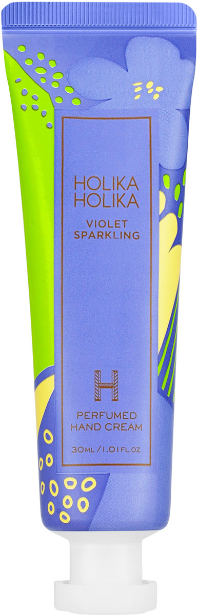 Крем для ухода за кожей Holika Holika Violet Sparkling Perfumed Hand Cream, 30 мл подарочный набор из 7 кремов для рук holika holika perfumed hand cream limited gift edition